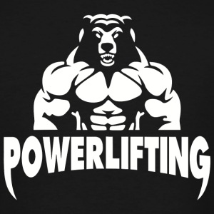 Powerlifting - Powerlifting fitness gym - Men's Tall T-Shirt