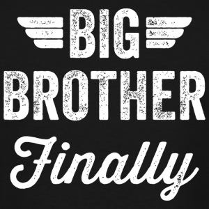 Brother - Big Brother Finally - Men's Tall T-Shirt
