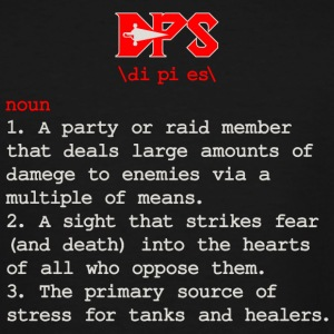 DPS - DPS Definition - DPS Meaning - Funny Gamin - Men's Tall T-Shirt