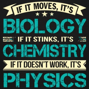 Scientist - It's Biology And It's Chemistry It's - Men's Tall T-Shirt