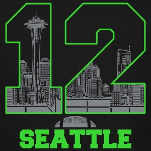Twelve seattle - twelve seattle - Men's Tall T-Shirt