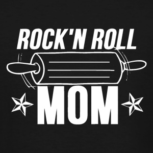 Rock and roll music - Cooking mom - Men's Tall T-Shirt