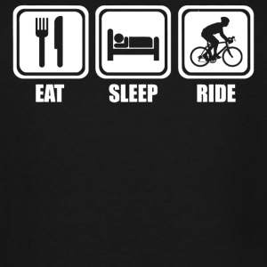 Ride - Eat Sleep Ride - Men's Tall T-Shirt