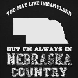 Nebraska - Nebraska Country - Men's Tall T-Shirt