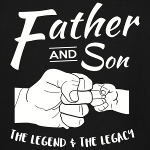 Father and Son - Father and Son Matching outfits - Men's Tall T-Shirt