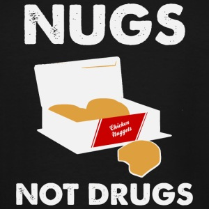 Chicken nugget - Nugs not drugs - Men's Tall T-Shirt