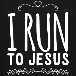 Runner - I run to Jesus - Men's Tall T-Shirt