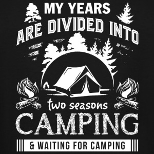 Camping - Camping T Shirt - Men's Tall T-Shirt
