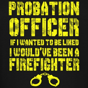 Firefighter - Probation Officer T Shirt - Men's Tall T-Shirt