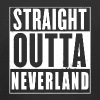 Straight Outta Neverland Peter Pan Parody - Kids' Premium Hoodie
