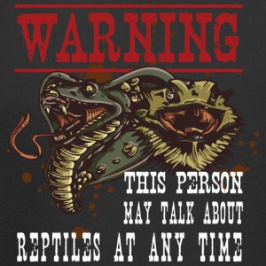 Warning This Person may talk about reptiles at any - Kids' Premium Hoodie