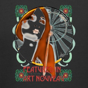 Feature in Art Nouveau sticker - Kids' Premium Hoodie
