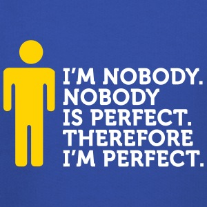Nobody Is Perfect. I'm Nobody. - Kids' Premium Hoodie