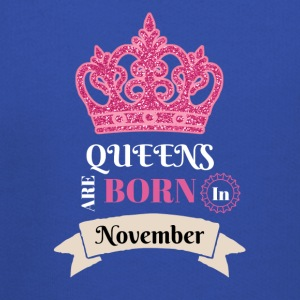 Birthday T-Shirt Queens Are Born In November - Kids' Premium Hoodie