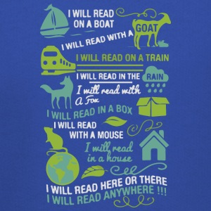 I will read anywhere - Kids' Premium Hoodie