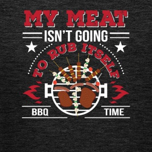 Meat Isnt Going To Rub Itself BBQ Love - Kids' Premium Hoodie