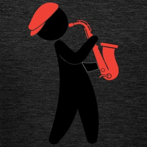 A Jazz Musician Playing On The Saxophone - Kids' Premium Hoodie