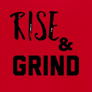 Rise & Grind - Unisex Fleece Zip Hoodie by American Apparel