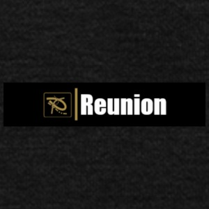 Reunion Logo - Unisex Fleece Zip Hoodie by American Apparel