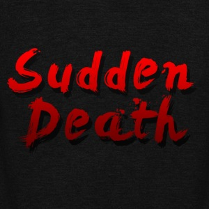 SuddenDeath - Unisex Fleece Zip Hoodie by American Apparel