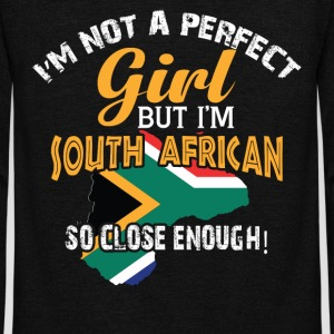 But I'm South African T Shirt - Unisex Fleece Zip Hoodie by American Apparel