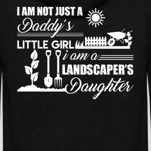Landscaper Daughter Shirt - Unisex Fleece Zip Hoodie by American Apparel