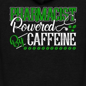 PHARMACIST POWERED BY CAFFEINE SHIRT - Unisex Fleece Zip Hoodie by American Apparel