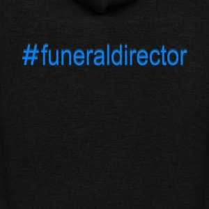 Funeral Director Tee Shirt - Unisex Fleece Zip Hoodie by American Apparel