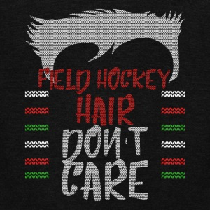 Ugly sweater christmas gift for Field Hockey - Unisex Fleece Zip Hoodie by American Apparel