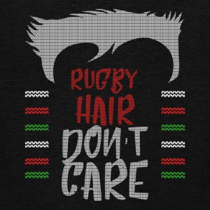 Ugly sweater christmas gift for Rugby - Unisex Fleece Zip Hoodie by American Apparel