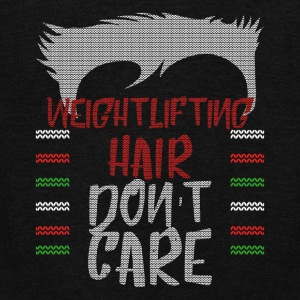 Ugly sweater christmas gift for weightlifting - Unisex Fleece Zip Hoodie by American Apparel