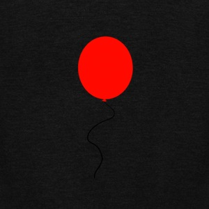 Red Balloon - Unisex Fleece Zip Hoodie by American Apparel