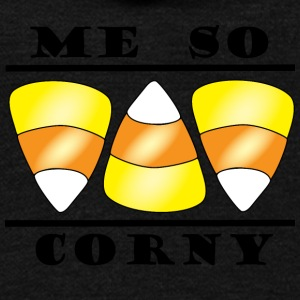 ME SO CORNY - Unisex Fleece Zip Hoodie by American Apparel