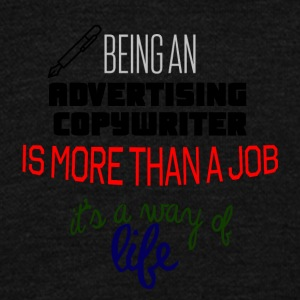 Being an advertising copywriter - Unisex Fleece Zip Hoodie by American Apparel