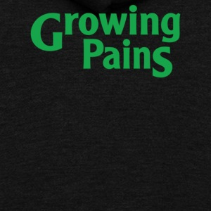 Growing Pains - Unisex Fleece Zip Hoodie by American Apparel