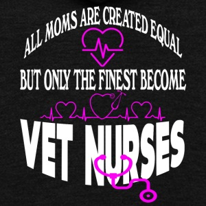 Proud Vet Nurse Mom T Shirt - Unisex Fleece Zip Hoodie by American Apparel