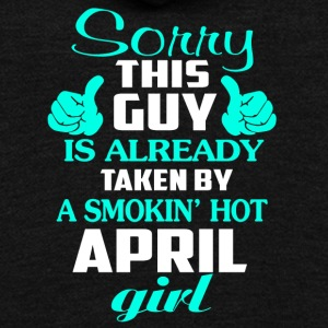 Taken By A Smokin' Hot April Girl T Shirt - Unisex Fleece Zip Hoodie by American Apparel