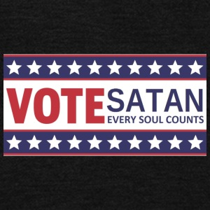 VOTE SATAN - Unisex Fleece Zip Hoodie by American Apparel