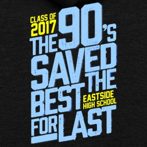 Class of 2017 Eastside High School - Unisex Fleece Zip Hoodie by American Apparel