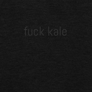 Fuck kale - Unisex Fleece Zip Hoodie by American Apparel