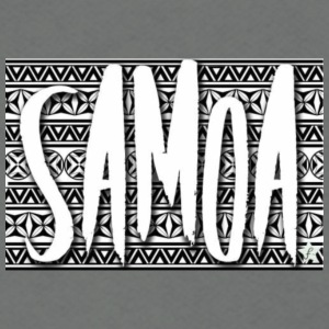 traditional Samoa - Unisex Fleece Zip Hoodie by American Apparel