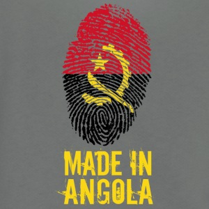 Made In Angola / Ngola - Unisex Fleece Zip Hoodie by American Apparel