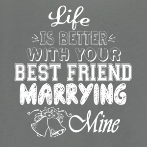 Your Best Friend Marrying Mine T Shirt - Unisex Fleece Zip Hoodie by American Apparel