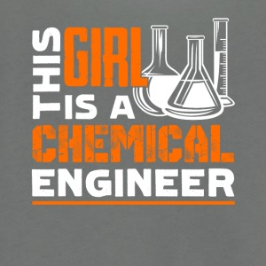 This Girl Is A Chemical Engineer Shirts - Unisex Fleece Zip Hoodie by American Apparel