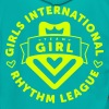 GIRLS INTERNATIONAL RHYTHM LEAGUE - Unisex Fleece Zip Hoodie