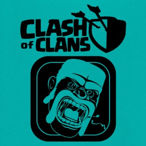 Barbarian Clash of Clans - Unisex Fleece Zip Hoodie by American Apparel