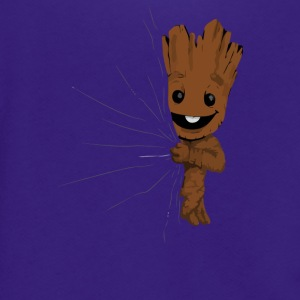 Hidden Groot Converted - Unisex Fleece Zip Hoodie by American Apparel