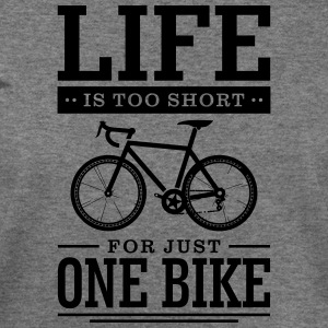 Life is too short for just one bike - Women's Wideneck Sweatshirt