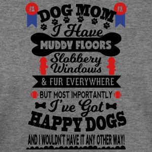 Number One Dog Mom for the Dog lover - Women's Wideneck Sweatshirt