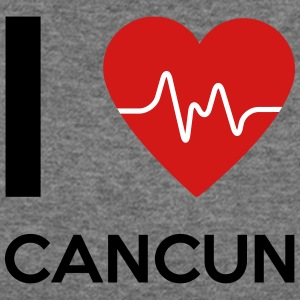 I Love Cancun - Women's Wideneck Sweatshirt